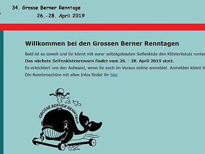 2019 - 26.-28. April Grosse Berner Renntage