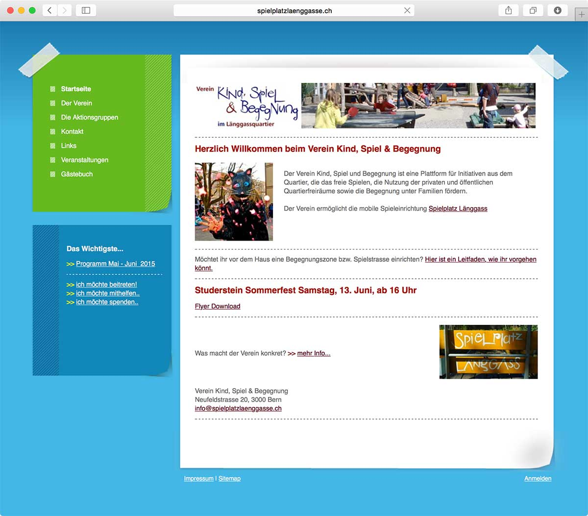 website laenggasse